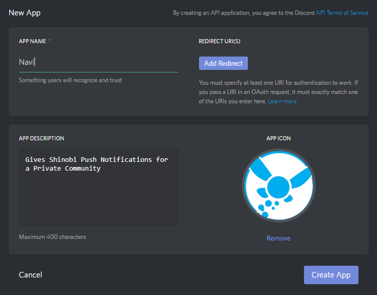 How to setup Push Notifications with Discord Bot API