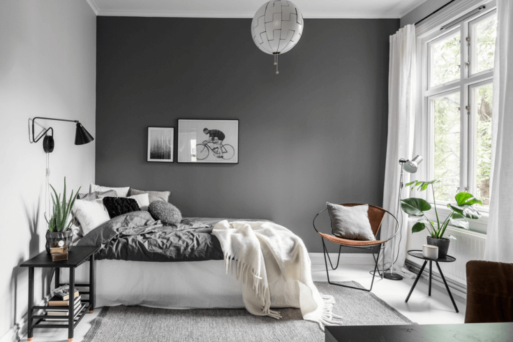 Seven reasons why grey is the best color for your bedroom