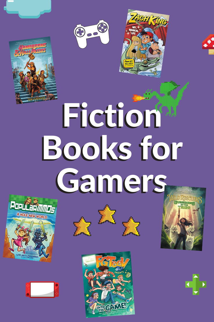Fiction Books for Gamers