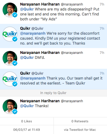 My experience of trying to sell an iPhone 6 on Quikr, Olx