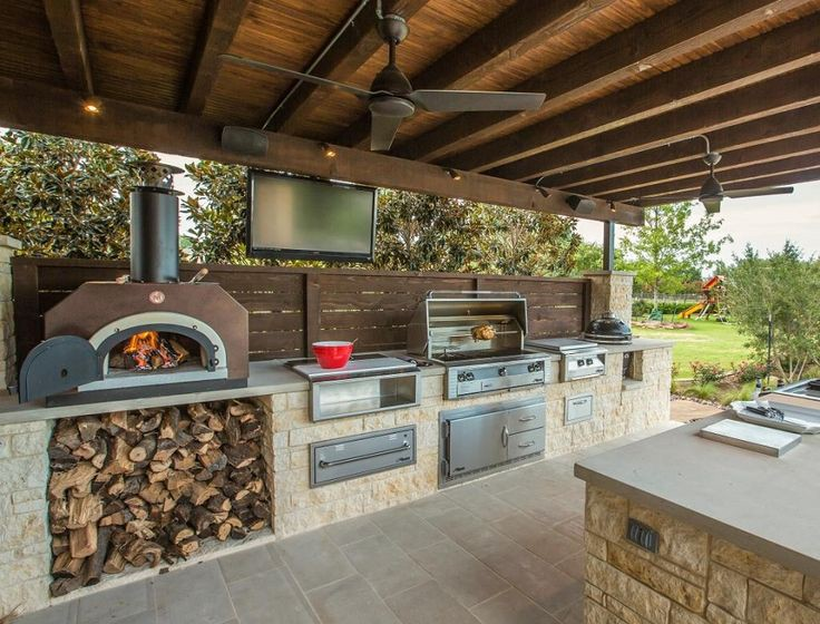 This Summers Outdoor Kitchen A Screen Porch Or A Patio Set In A By Taimoor Iftikhar Medium