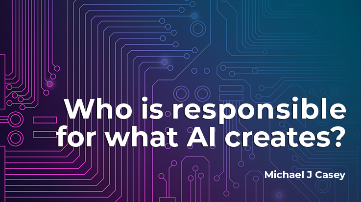 Who Is Responsible for What AI Creates?