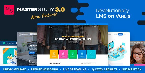 Education WordPress Theme Masterstudy Nulled Free Download