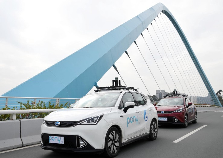 Pony AI Launches China's First Robotaxi Service - Self