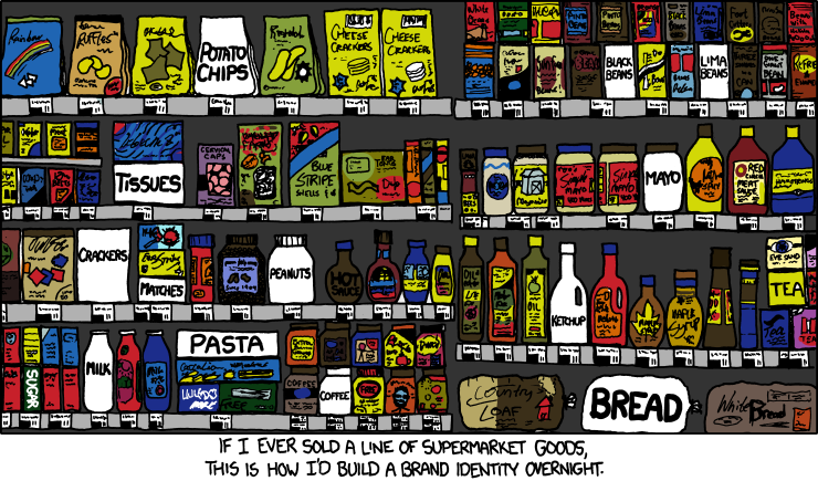The xkcd approach to branding