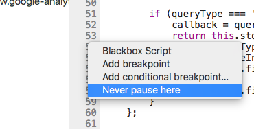 Never Pause Here! Undoing Breakpoints in Chrome Devtools