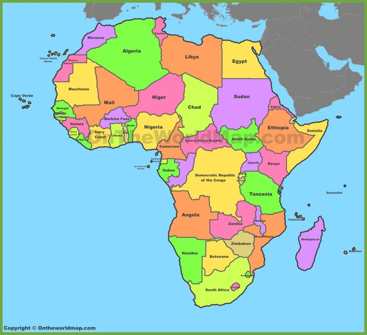 Most of Africa is still colonized - Otto B  Isong - Medium