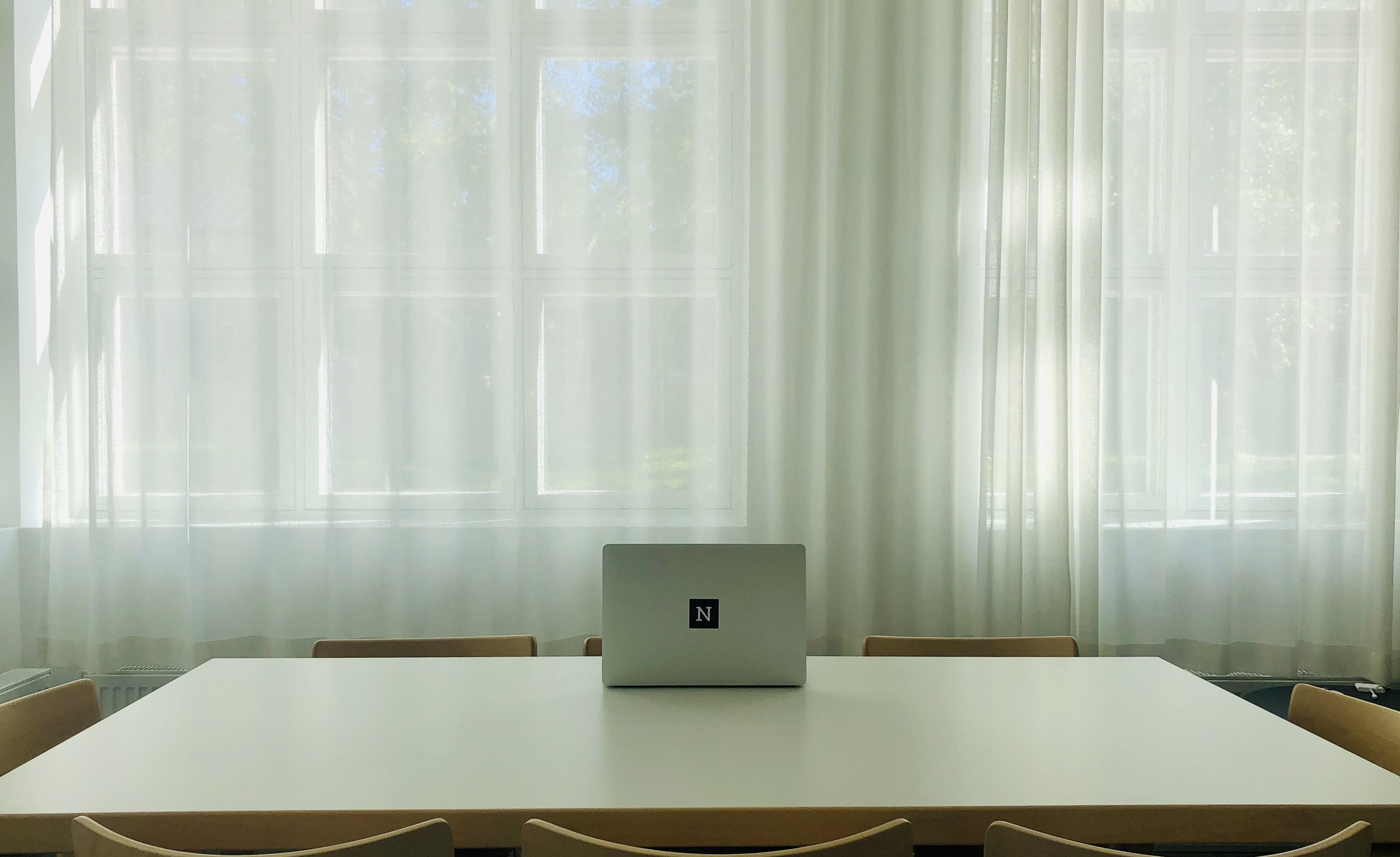 Using your club room as temporary office space at your condominium
