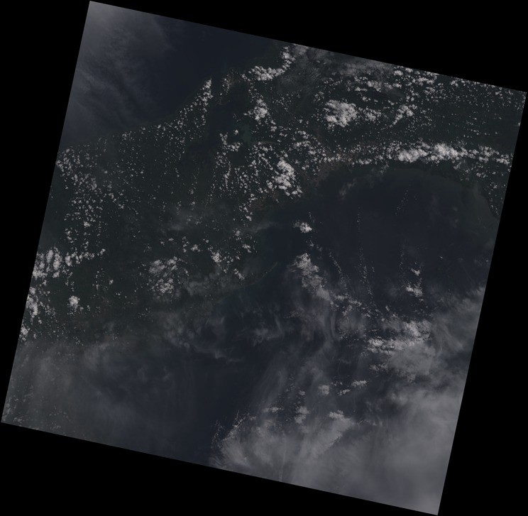 Processing Landsat 8 Using Open-Source Tools - Points of