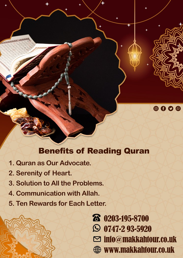 Benefits Of Reading Quran