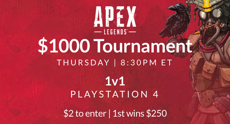 How To Play Online Apex Legends Tournaments For Money 2019