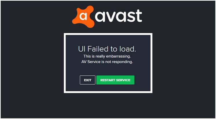 How To Fix Avast Ui Failed To Load Error By A J Medium