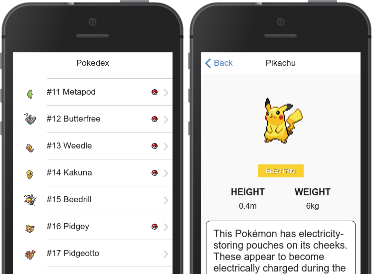 Creating a Pokémon hybrid app with Angular 2 and Onsen UI