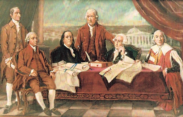 Otd In History September 3 1783 The Treaty Of Paris Ends American