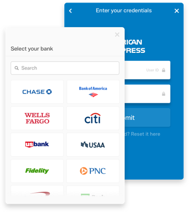 Plaid API Link lets you link users' bank accounts to your application