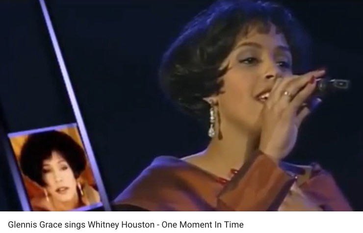 Glennis grace whitney houston