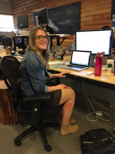 Taylor Ledingham was a co-op on our iOS team, and now she's a full-time engineer.