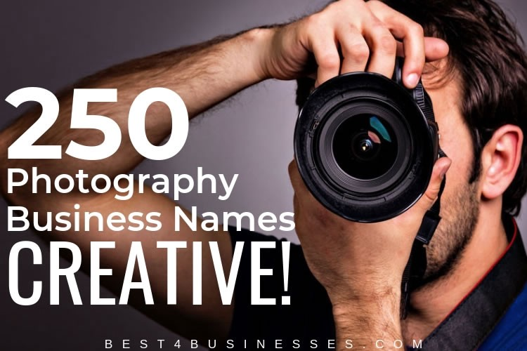250 Catchy Photography Business Name Ideas Picture Perfect By Marsha Kelly Medium