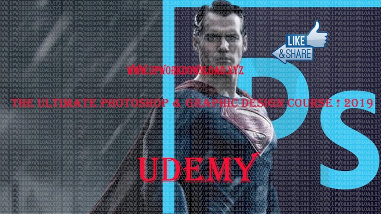 Free Course — Udemy] — The Ultimate Photoshop and Graphic