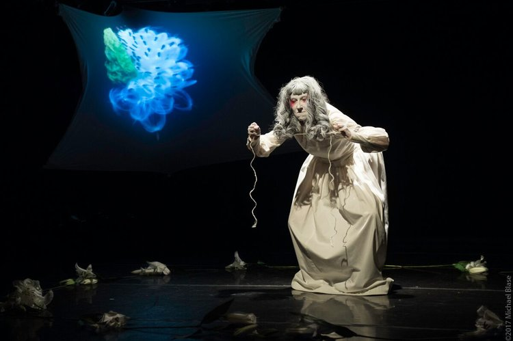 Flower-Secret and the Art of American Butoh - Theatre Study