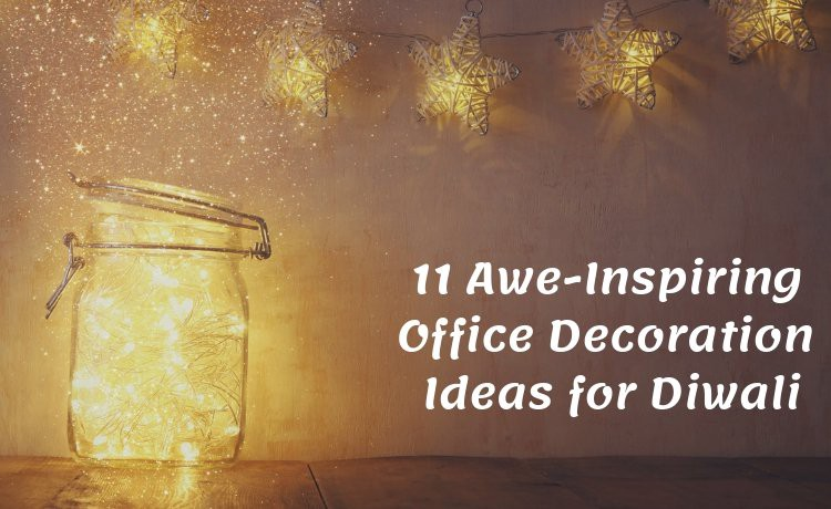 Office Cubicle Decoration Ideas For Diwali from miro.medium.com