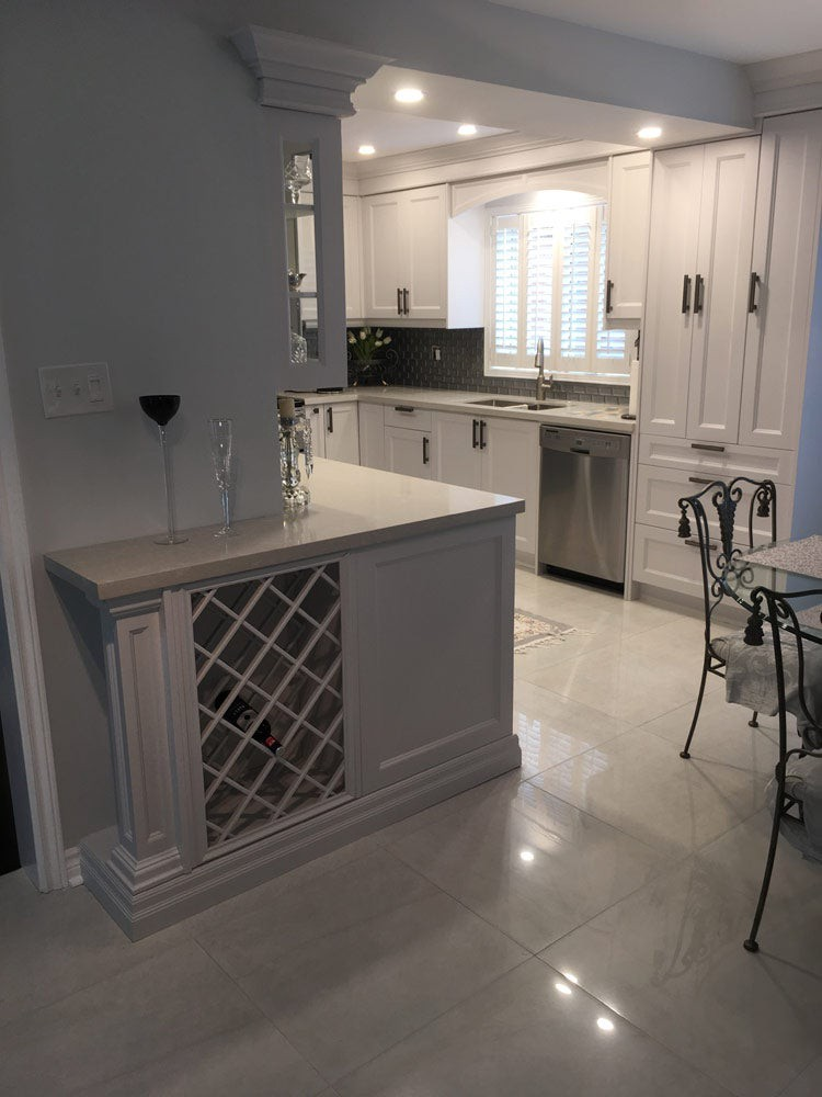 Transitional Kitchen Cabinets For Your Richmond Hill Home By Andre Kitchen And Bath Medium