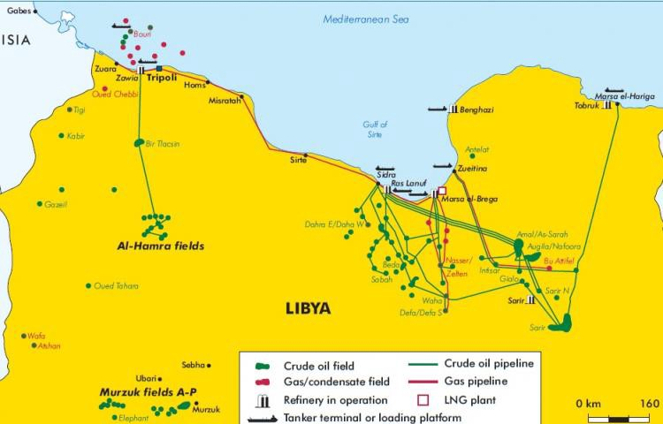 Libya's oil output revival thwarted by pipeline explosion