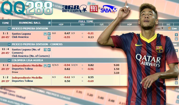 Tolima vs medellin win sports betting option adjusted spread meaning in betting