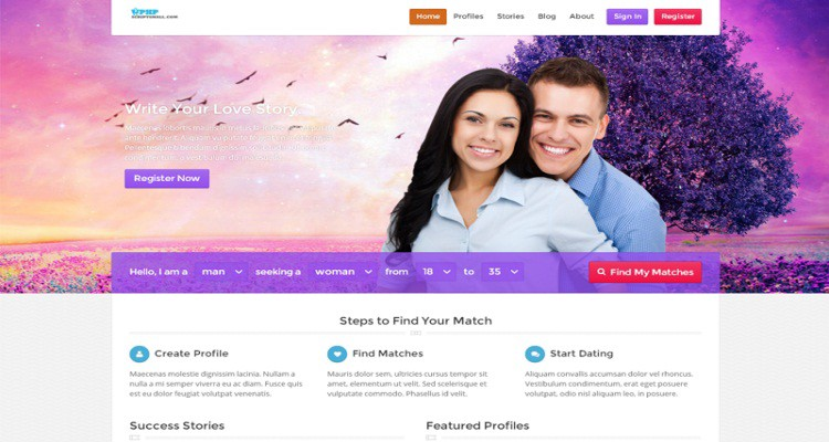 Php dating open source autism dating service