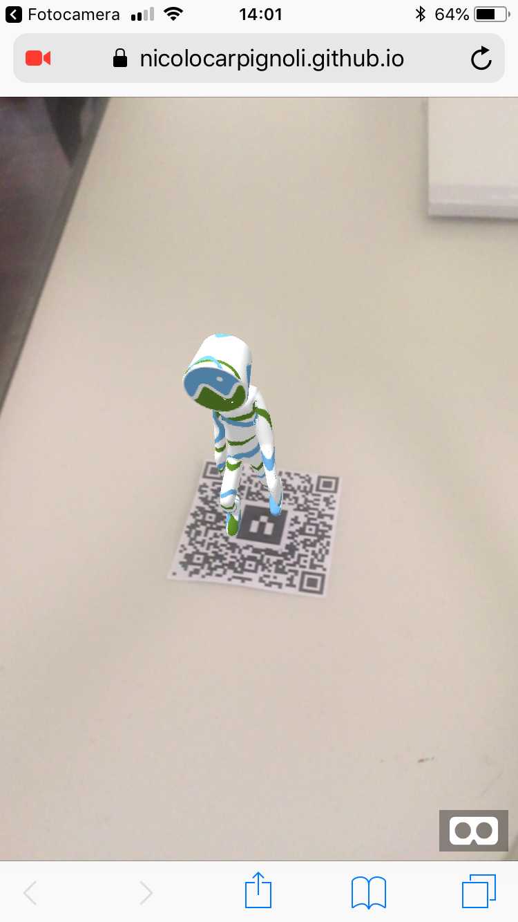 How to deliver AR on the web only with a QR Code - Chialab