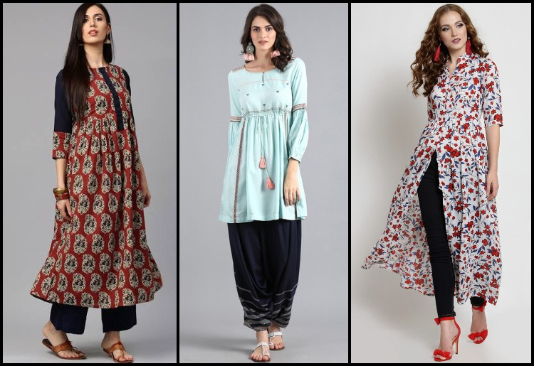 Style And Class With Designer Kurtis By Rani Shete Medium