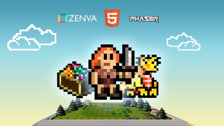 Discover Game Development with Phaser 3 and HTML5 Free Udemy