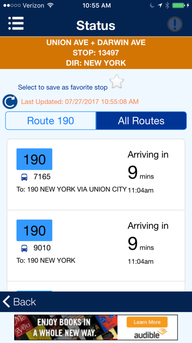 NJ Transit App: A UX Annotation and Conceptual Redesign