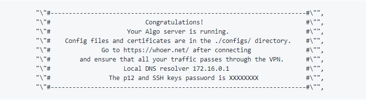 Setting Up Your Own VPN in AWS with DoH using Algo, Pi-hole