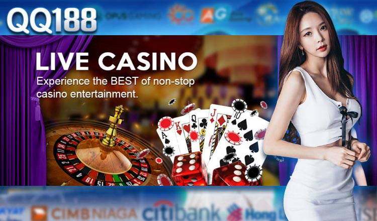 Onlinecasinoqq188 Reliable Live Casino Mobile Games By