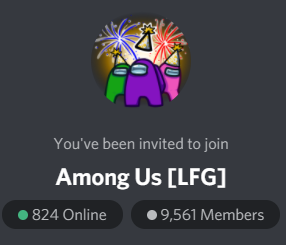 Join The Best Among Us Discord Server Among Us Lobby Lfg By Dadscord Medium