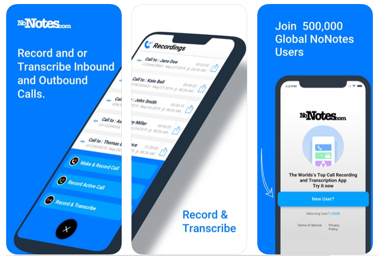 Nonotes Call Recording App For Iphones By Janet Paterson Medium