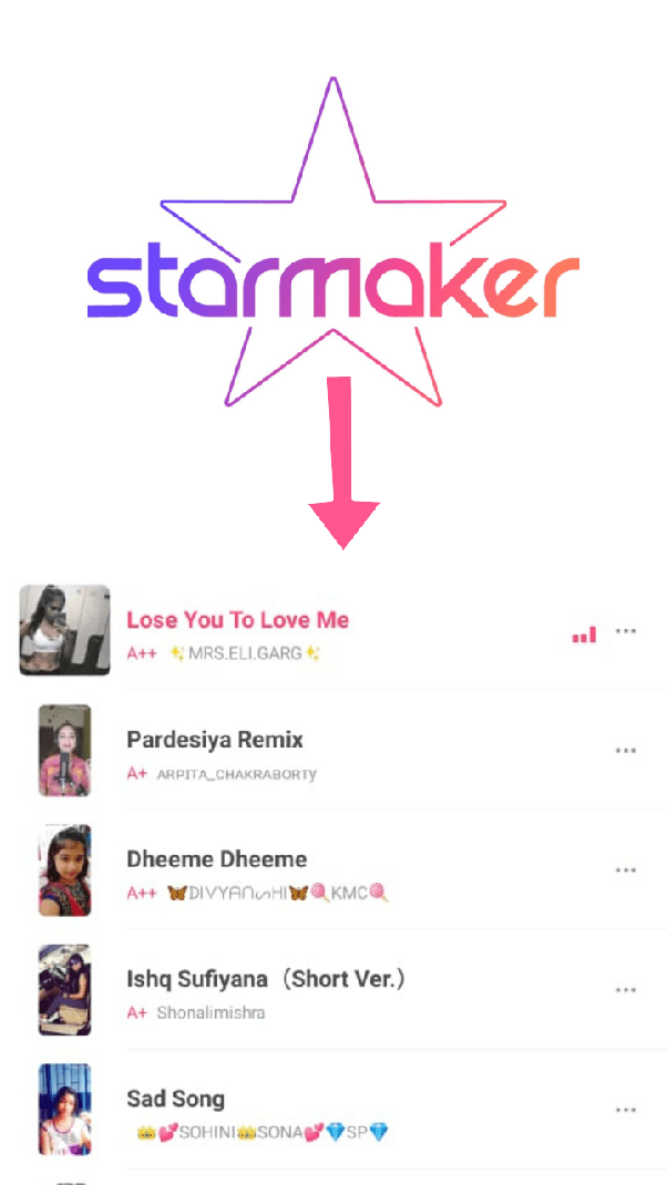 How to download starmaker songs