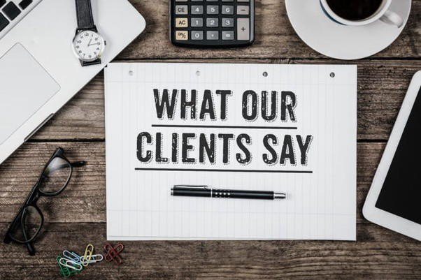 what our client says