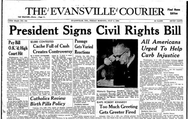 reformism the civil rights act of 1964 refuse to cooperate medium