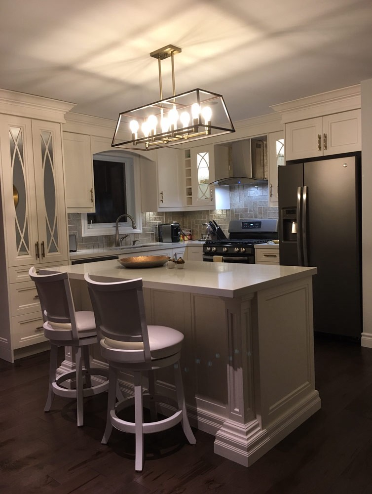 Transitional Kitchen Cabinets In Richmond Hill By Andre Kitchen And Bath Medium