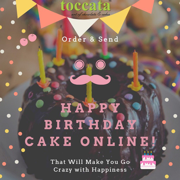 Surprising Send Happy Birthday Cake Order Send Happy Birthday Cake Online Personalised Birthday Cards Epsylily Jamesorg