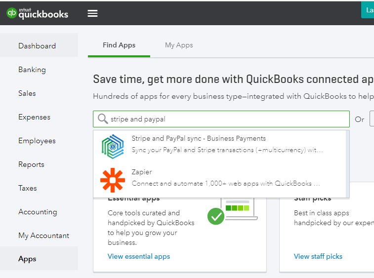 Syncing Stripe with QuickBooks - Pool Office Manager - Medium