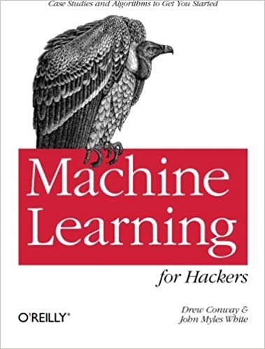 Machine Learning for Hackers | Source: Amazon | Best Machine Learning Books | Machine Learning (ML) Books