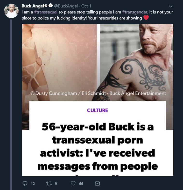 Sex with a transsexual