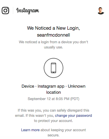 My Instagram got hacked, here's how I fixed it  - Sean McDonnell