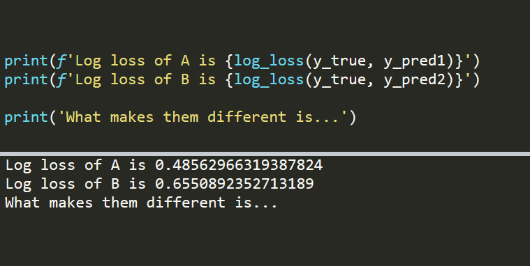 Why We Care About the Log Loss
