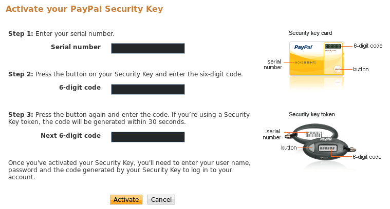 Set up 2FA (Two Factor Authentication) for PayPal with