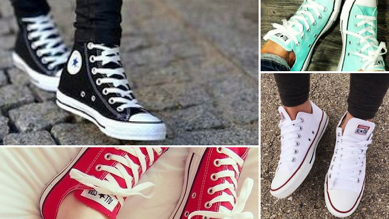 Evolution of the Converse Shoe