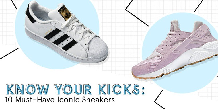 10 Must-Have Iconic Sneakers